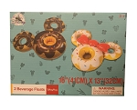 Disney Beverage Float - Mickey and Minnie Mouse Donut - Set of 2