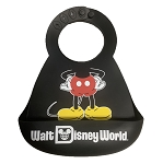 Disney Bib with Crumb Catcher - Mickey Mouse - Silicone
