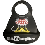 Disney Bib with Crumb Catcher - Minnie Mouse - Silicone