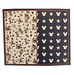 Disney Throw Blanket - Mickey and Minnie Mouse Americana - Reversible