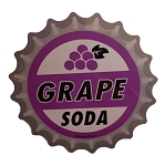 Disney Sticker - Grape Soda Bottle Cap - Disney Parks