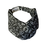 Disney Stretch Headband - Disney Park Icons - Black