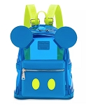 Disney Loungefly Backpack - Mickey Mouse Neon - Walt Disney World