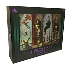 Disney Puzzle Set - The Haunted Mansion Stretching Room - 4 Piece