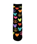 Disney Socks for Adults - Peace Love Mickey