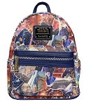 Disney Loungefly Backpack - Star Wars - Movie Poster Collage
