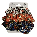 Disney Hair Scrunchies - Mickey Mouse and Friends - Pack of 3