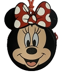 Disney Keychain - Minnie Mouse Coin Purse - Rubber
