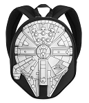 Disney Loungefly Backpack - Millennium Falcon - Star Wars