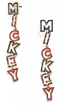 Disney BaubleBar Earrings - Mickey Mouse Lettering