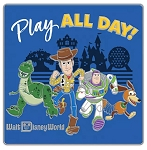 Disney Toy Story Pin - Play All Day - Walt Disney World