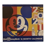 Disney Calendar - 2020 to 2021 Walt Disney World - 16 Month
