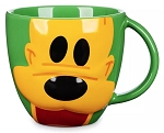 Disney Coffee Mug - Pluto Face - Mousewares