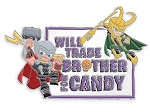 Disney Halloween Pin - Thor and Loki - Trade Brother
