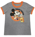 Disney Shirt for Women - 2020 Halloween - Mickey Mouse - Gray