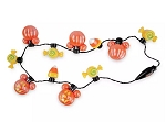 Disney Light Up Necklace - 2020 Halloween -Mickey Pumpkins & Candy