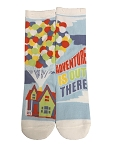 Disney Socks for Adults - Pixar UP - Adventure is Out There