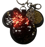 Disney Keychain - Minnie Mouse - Reversible Flip Sequin