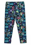 Disney Leggings for Women - The Haunted Mansion - Collage