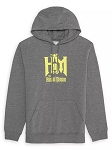 Disney Pullover for Adults - The Haunted Mansion Logo - Gray