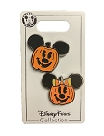 Disney Halloween Pin Set - Mickey and Minnie Pumpkin