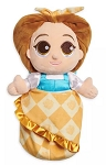 Disney Babies Plush in Pouch  - Belle - Beauty and the Beast