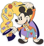 Disney Halloween Pin - 2020 Mickey Mouse - Witchdoctor
