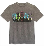 Disney T-Shirt for Adults - Disney Villains - Gray