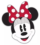 Disney Minnie Pin - Minnie Mouse Face