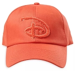 Disney Hat - Baseball Cap - Walt Disney World - Coral - Chenille