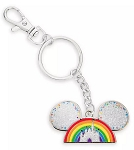 Disney Keychain - Mickey Mouse Rainbow - Metal