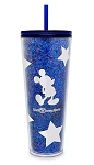 Disney Tumbler with Straw - Starbucks - Mickey Mouse - Wishes Come True Blue