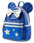Disney Loungefly Backpack - Minnie Mouse - Wishes Come True Blue