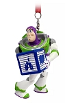 Disney Figurine Ornament - Buzz Lightyear with Block - Toy Story