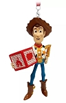 Disney Figurine Ornament - Woody with Block - Toy Story
