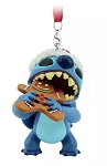 Disney Figurine Ornament - Stitch with Gingerbread Snack