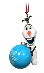 Disney Figurine Ornament - Olaf with Ornament