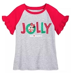 Disney T-Shirt for Girls - Holiday Minnie Mouse - Jolly