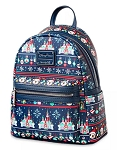 Disney Loungefly Backpack - Mickey Mouse Holiday - Ugly Sweater