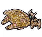 Disney Holiday Pin - Millennium Falcon - Star Wars