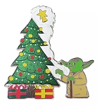 Disney Holiday Pin - 2020 Yoda with Tree - Star Wars