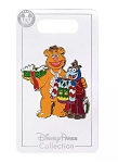 Disney Holiday Pin - 2020 Fozzie and Gonzo - Muppets