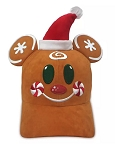 Disney Hat - Baseball Cap - Mickey Gingerbread Man Holiday