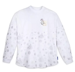 Disney Spirit Jersey for Adults - Holiday Mickey Mouse - Silver & Gold