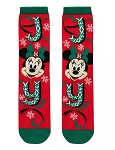 Disney Socks for Adults - Minnie Mouse Holiday - Joy