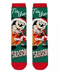 Disney Socks for Adults - Santa Mickey Mouse Holiday - Tis the Season