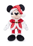 Disney Holiday Plush - 2020 Santa Mickey Mouse - Medium