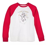 Disney Shirt for Women - Holiday Mickey Snowman - Silver & Gold