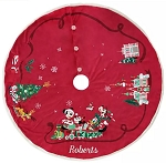 Disney Christmas Tree Skirt - Mickey and Friends - Holiday Cheer