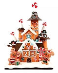 Disney Countdown Calendar - Mickey and Minnie Gingerbread House